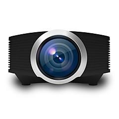 LCD FWVGA (854x480) プロジェクター,LED 1200 高解像度 パータブル プロジェクター