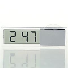 Ziqiao carro relógio eletrônico indicador de cristal líquido lcd timer do carro relógio digital com ventosa