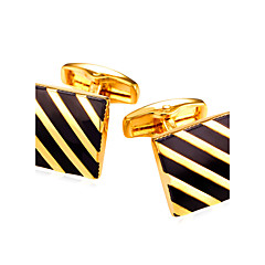 Mandzsettagomb Tie Bar Nyakkendőtű Divat Régies (Vintage) Manžete Férfi Női Aranyozott