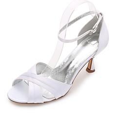Feminino Sapatos De Casamento Conforto MaryJane D'Orsay Plataforma Básica Cetim Primavera Verão Casamento Social Festas & NoitePedrarias