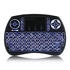 ipazzport kp-810-21sdl mini 3-kleuren backlit 2.4g draadloos toetsenbord lucht muis-Engels / Frans / Russisch