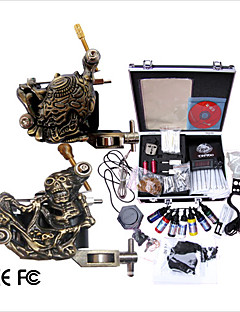 Professional Tattoo Machine Kit Completed Set With 2 Tattoo  Machines