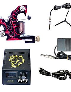 1 handgjorda tatuering maskin och lcd strömförsörjning Combo