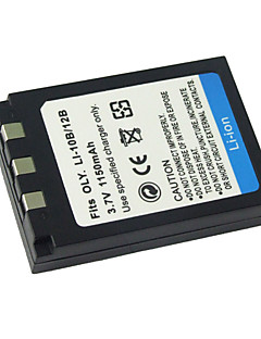 udskiftning Digitalkamera Batteri li10b/li-12b for Olympus Camedia C-5000 zoom / OLYMPUS STYLUS 1000 (09.370.126)