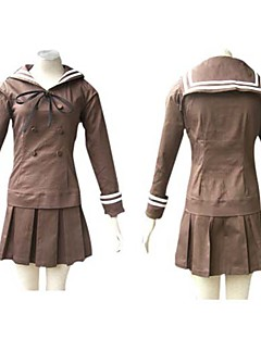 Inspired by Ouran High School Host Club Haruhi Fujioka Anime Cosplay Costumes Cosplay Suits / School Uniforms Patchwork Brown Long Sleeve