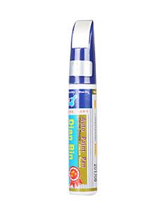 voiture peinture stylo-automobile rayures stoppage-touch retouches de couleur blanche pour Nissan QX1-ivoire (szc5943)