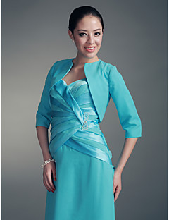 Party/Evening / Office & Career Chiffon Coats/Jackets Half-Sleeve Wedding  Wraps