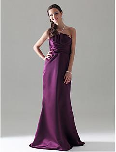 LISA - kjole til brudepige i satin