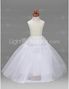 Flower Girl Taffeta Ball Gown 3 Tier Floor-length Slip Style/ Wedding Petticoats