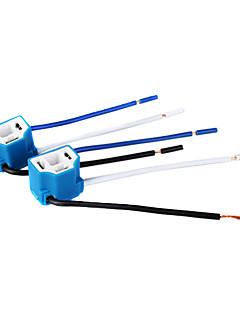 svjetala socket / priključak za H4 žarulje (keramika, 1 par)
