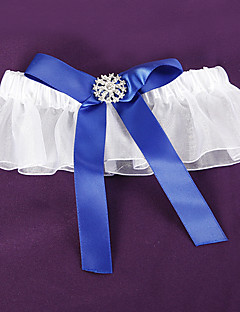 Splendor Royal Blue Wedding Garter
