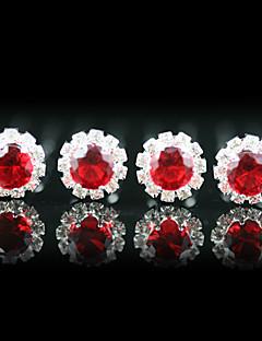 hoofddeksels 4 stuks prachtige strass huwelijk pinnen / speciale gelegenheid meer kleuren beschikbaar