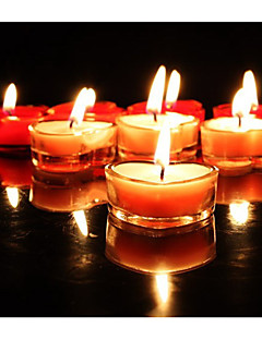 Свадьба Декор красное сердце чайных свечей (набор из 20)