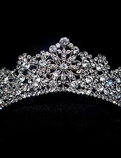 känsliga antiksilver tiara