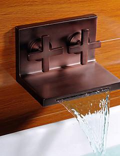 アンティーク 洗面ボール用水栓 ツーハンドル 台付きタイプ