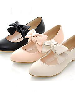 PU läder 3 cm platta Sweet Lolita skor