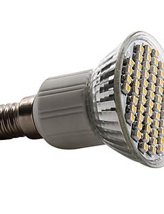 E14 / GU10 / E26/E27 Spot LED PAR38 60 SMD 3528 180 lm Blanc Chaud / Blanc Naturel AC 100-240 V