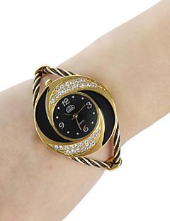 Dámské Módní hodinky Náramkové hodinky Křemenný Slitina Kapela Třpyt Náramek Černá Bílá Modrá Červená Růžová FialováČerná Fialová Červená