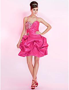 BLUETTE - שמלת קוקטיל מ- טפטה