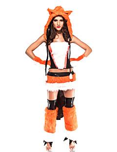 Sexy Adulto Donna Fox Foxy Halloween Costume (6 pezzi)
