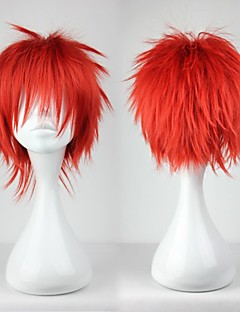 Cosplay Wigs Cosplay Akashi Seijyuurou Red Short Anime Cosplay Wigs 30 CM Heat Resistant Fiber Male