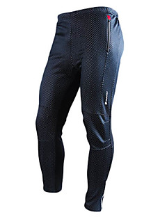 NUCKILY® Cycling Pants Men's Bike Breathable / Thermal / Warm / Wearable Pants/Trousers/Overtrousers / BottomsSpandex / Polyester /