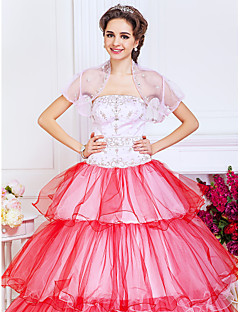Wedding / Party/Evening Tulle Coats/Jackets Short Sleeve Wedding  Wraps
