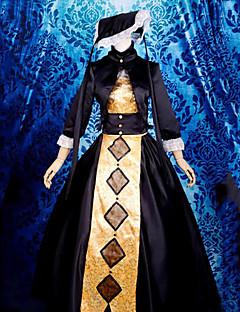 The Dark Landlady's Inn 3/4-length Sleeve Floor-length Gothic Lolita Dress