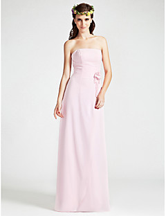 YONCA - Kleid für Hochzeitsfeier und Brautjungfer aus Chiffon mit Bolerojäckchen