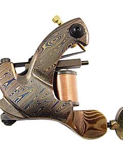 Резки проволоки Damascus Steel татуировки Machine Gun для Shader