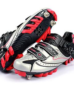 Santic Zapatos ciclismo profesional con nylon fuerte fibra sintética microfibra transpirable y suela superior ST12803