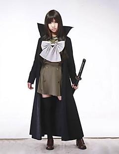 Inspired by Shakugan no Shana Shana Anime Cosplay Costumes Cosplay Suits Patchwork Black Long Sleeve Coat / Top / Skirt / Ribbon