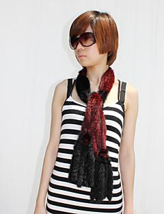 splendida pelliccia di visone party / sera, sciarpa con frange (più colori)