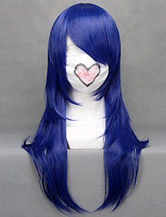 Cosplay Wigs Cosplay Kotamo Ichinose Blue Medium Anime/ Video Games Cosplay Wigs 60 CM Heat Resistant Fiber Female