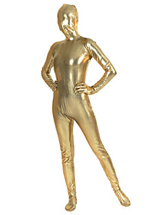 Gold Lycra Unisex Full Body Shiny Zentai
