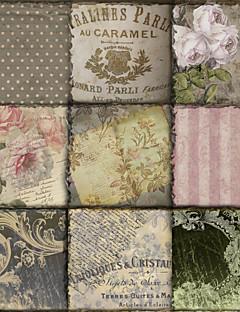 palabras lona estirada arte floral viva la paris ii por panadería del color listo para colgar