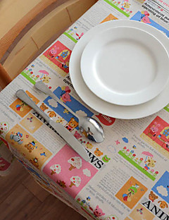 Animal de bande dessinée Lin / Coton Tissu Blend tableau