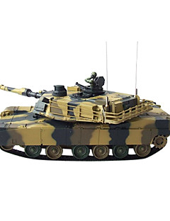 New 1:24 RC Tank Radio Remote Control Tanks Leapard A5 Military Battle Toys