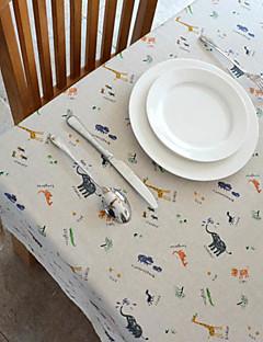 Modèle animal Lin / Coton Tissu Blend tableau