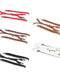Dandy Ouji PU Leather Suspenders Classic Lolita Accessory