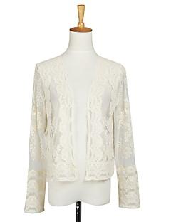 Beautiful Long Sleeve Tulle Evening/Casual Wrap/Evening Jacket Bolero Shrug
