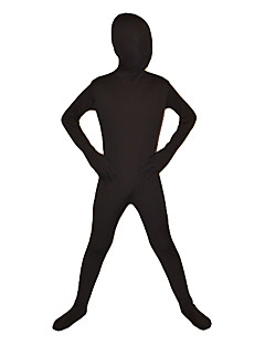Child Black Full Body Lycra Zentai