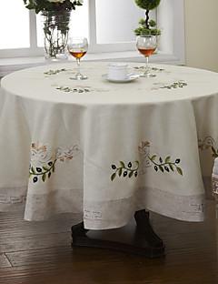 """dia 71 ronde """"kaki traditionnelle nappes florales (couleurs aléatoires)"""