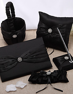 Classic Wedding Collection is gevestigd in Black Satin (5 stuks)