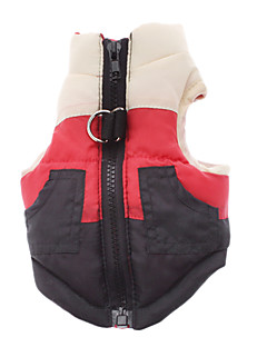 Dog Coat Red Dog Clothes Winter Classic