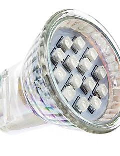 1W GU4(MR11) Spot LED MR11 14 SMD 3528 lm Rouge AC 100-240 V