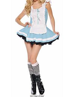 Wonderful World Alice Blau Maid Kostüm