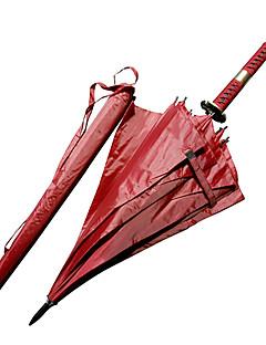 Roronoa Zoro Three Sword Style Sandai Kitetsu Samurai Umbrella Sword (Red)