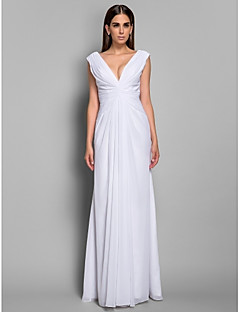 Military Ball/Formal Evening Dress Plus Sizes Floor-length Chiffon