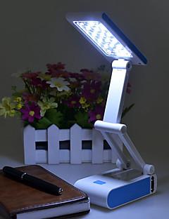 1.2w pliage moderne et élégant a mené la lampe de protection des yeux de lampe de bureau (couleur aléatoire)